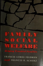 Cover of: Family social welfare