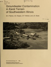 Cover of: Groundwater contamination in karst terrain of southwestern Illinois |