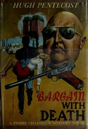 Cover of: Bargain with death | Hugh Pentecost