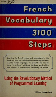 Cover of: French vocabulary 3100 steps