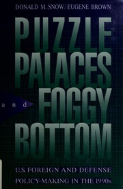 Cover of: Puzzle palaces and Foggy Bottom
