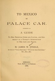Cover of: To Mexico by palace car