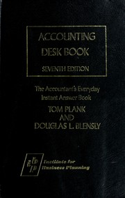 Cover of: Accounting desk book | Casey, William J.