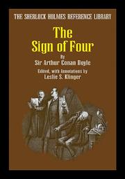 Cover of: The Sign of Four (The Sherlock Holmes Reference Library) | Arthur Conan Doyle