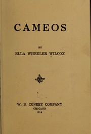 Cover of: Cameos