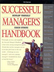 Cover of: Successful Manager