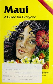 Cover of: Maui, a guide for everyone | Greg Stilson