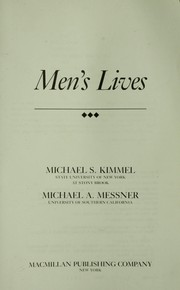 Cover of: Men's lives