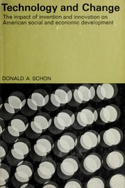 Cover of: Technology and change | Donald A. Schön