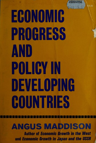 Economic progress and policy in developing countries.