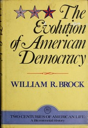 Cover of: The Evolution of American democracy