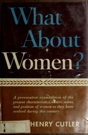 Cover of: What about women?