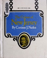 Cover of: The Colony of New Jersey