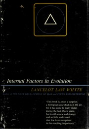 Cover of: Internal factors in evolution