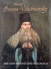 Cover of: Blessed Paisius Velichkovsky