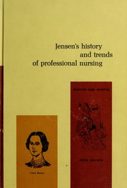 Cover of: Jensen's History and trends of professional nursing