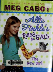 Cover of: The New Girl (Allie Finkle's Rules for Girls #2)