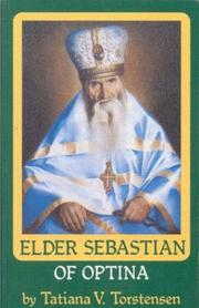 Cover of: Elder Sebastian of Optina (Optina Elders Series)