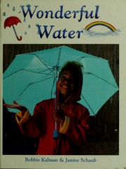 Cover of: Wonderful water