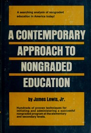 Cover of: A contemporary approach to nongraded education