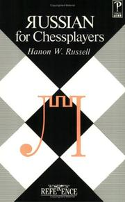 Cover of: Russian for Chessplayers