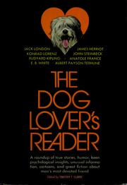 Cover of: The dog lover's reader | Timothy T. Clarke