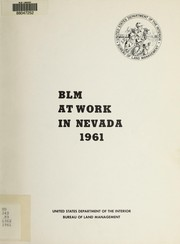 Cover of: BLM at work in Nevada