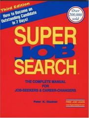 Cover of: Super Job Search