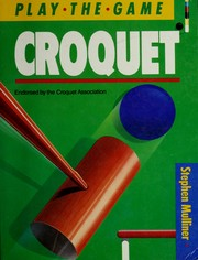 Cover of: Croquet
