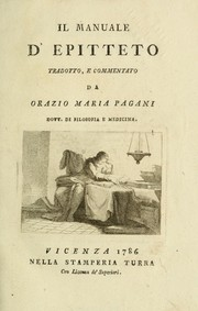 Cover of: Il Manuale d'Epitteto