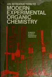 Cover of: An Introduction to modern experimental organic chemistry |