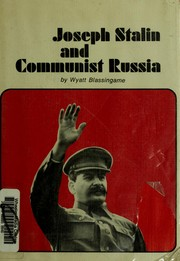 Cover of: Joseph Stalin and Communist Russia