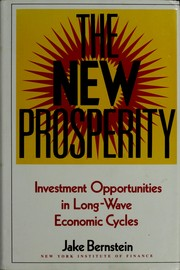 Cover of: The new prosperity
