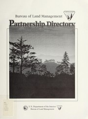 Cover of: Partnership directory