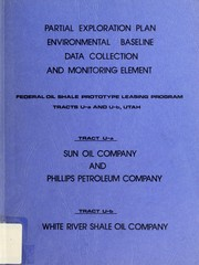Cover of: Partial exploration plan, environmental baseline data collection and monitering element