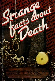 Cover of: Strange facts about death
