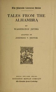 Cover of: Tales from the Alhambra