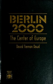 Cover of: Berlin 2000