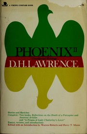 Selected literary criticism by D. H. Lawrence