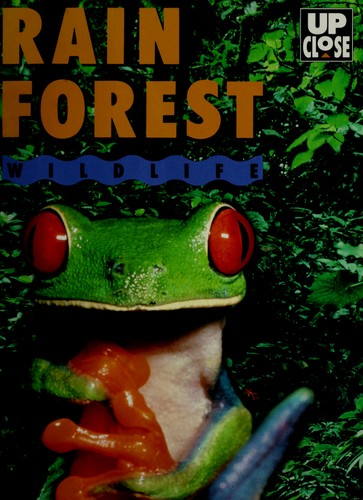 Rain Forest Wildlife/Book, Board Game, Poster, Press-Out Model Frog and Picture Puzzles (Up Close) by Joshua Morris