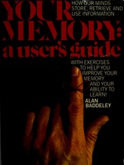 Cover of: Your memory, a user's guide