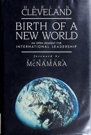 Cover of: Birth of a new world