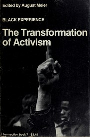 Cover of: Black Experience — The Transformation of Activism | Lee Rainwater