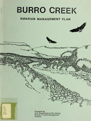 Cover of: Burro Creek riparian management plan