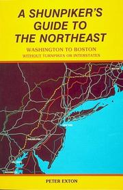 Cover of: A shunpiker's guide to the Northeast