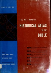 Cover of: The Westminster historical atlas to the Bible
