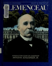 Cover of: Georges Clemenceau