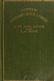 Cover of: Gods of modern Grub Street
