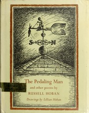 Cover of: The pedaling man | Russell Hoban