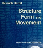 Cover of: Structure, form, movement
